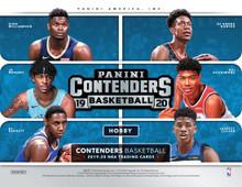 2019/20 Panini Contenders Basketball Hobby Box