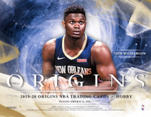2019/20 Panini Origins Basketball Hobby Box   Configuration: 1 pack per box. 7 cards per pack.   PRODUCT HIGHLIGHTS - New in 2019-20: 2019/20 Panini Origins makes its debut in basketball! Look for 1 Rookie Jersey Autograph, 1 Other Auto or Mem and 2 Parallels per box, on average! - Find on-card rookie autographs that feature 40 of the top 2019 NBA Draft selections! - Look for rare silver Ink, gold Ink and inscription autographs! - Chase rare booklets that feature a massive piece of prime memorabilia and an on-card autograph! - Pull oversized memorabilia cards from the NBA's top rookies in Rookie Jumbo Jerseys!   BOX BREAK - 1 Rookie Jersey Autograph - 1 Other Auto or Mem - 2 Parallels  ROOKIE JERSEY AUTOGRAPHS Pull one Rookie Jersey Autograph per box, on average! Look for prime parallels in Turquoise (#'d/25), Gold (#'d/10), Green (#'d/5) and Black (#'d/1)  AUTOGRAPHS Find on-card autographs that feature the top 2019 NBA rookies, as well as the top current and legendary stars!  ROOKIE BOOKLET AUTO PATCH Chase rare Rookie Booklet Auto Patch cards that feature a massive piece of prime memorabilia and an on-card autograph!  ROOKIE JUMBO JERSEYS Pull jumbo memorabilia from the stars of the 2019-20 NBA Rookie Class in Rookie Jumbo Jerseys!  SIX STAR SIGNATURES Find unique Six Star Signatures that feature six of the top NBA rookies signed on-card and sequentially numbered to 10 or less!