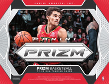 2019/20 Panini Prizm Basketball Retail Box    Configuration: 24 Prizm basketball packs per box. 4 Prizm basketball cards per pack.    PRODUCT HIGHLIGHTS - 2019/20 Panini Prizm basketball is back with a new rainbow of Prizms to collect--including Silver Prizms of Ja Morant, RJ Barrett, De���Andre Hunter, and more! - Find autographs from rookies, veterans, and all-time NBA Greats in Penmanship and Rookie Penmanship! - Collect a new roster of inserts, including Instant Impact, Emergent, Get Hyped!, Dominance, and NBA Finalists! - Every Retail SKU features exclusive content! Look for Retail-Exclusive Prizms Green in all SKUs!    BOX BREAK - 1 Autograph - 12 Prizms  PRIZMS Welcome to the home of the 2019/20 Panini Prizm basketball card! Look for Panini Prizm basketball cards of your favorite NBA players, from rookies to all-time greats! 2019/20 Panini Prizm basketball features a 300-card base set, making that special Prizm pull, that much more special! Each Retail SKU features an Exclusive Prizm Parallel--Retail: Pink Pulsar #���d/42, Blaster: Green Pulsar #���d/25, Multi-Pack: Red White and Blue.  AUTOGRAPHS Penmanship and Rookie Penmanship deliver a huge roster of players to collect! Look for autographs of NBA stars, old and new!  INSERTS Collect incredibly colorful opti-chrome inserts--several of which feature dramatic in-game photography! Look for insert sets: Instant Impact, NBA Finalists, and Get Hyped!