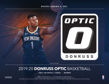 2019/20 Panini Donruss Optic Basketball Hobby 12 Box Case