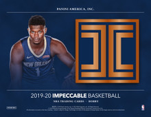 2019/20 Panini Impeccable Basketball Hobby 3 Box Case