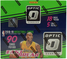 2018/19 Panini Donruss Optic Basketball Fast Break 20 Box Case