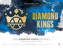 2020 Panini Donruss Diamond Kings Baseball Hobby 24 Box Case