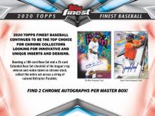 2020 Topps Finest Baseball Hobby 8 Box Case