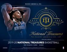 2019/20 Panini National Treasures Basketball Hobby Box