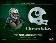 2019 Panini Chronicles Football Hobby 12 Box Case