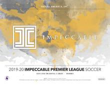 2019/20 Panini Impeccable Soccer Hobby 3 Box Case