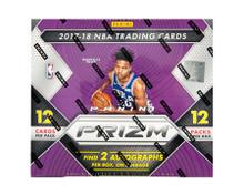 2017/18 Panini Prizm Basketball Hobby 12 Box Case