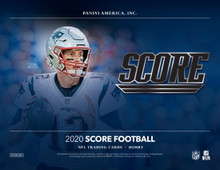 2020 Panini Score Football Hobby 12 Box Case