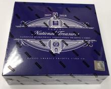 2017/18 Panini National Treasures Basketball Hobby Box