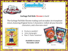 2020 Topps Garbage Pail Kids Chrome Hobby 12 Box Case