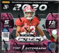 2020 Panini Prizm Collegiate Draft Picks Football Hobby Hybrid Box