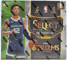 2019/20 Panini Select Basketball Hobby Hybrid 20 Box Case
