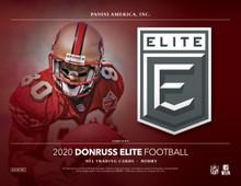 2020 Panini Donruss Elite Football Hobby 12 Box Case