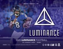 2020 Panini Luminance Football Hobby 12 Box Case