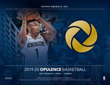 2019/20 Panini Opulence Basketball Hobby Box