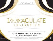 2020 Panini Immaculate Baseball Hobby 8 Box Case