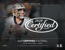2020 Panini Certified Football Hobby Box