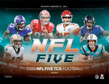 2020 Panini NFL Five Trading Card Game Booster 12 Box Case