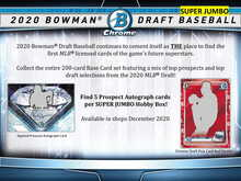 2020 Bowman Draft Picks Baseball Super Jumbo Box
