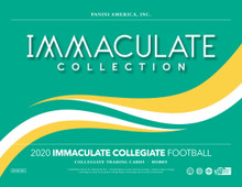 2020 Panini Immaculate Collection Collegiate Football Hobby Box