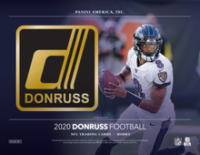 2020 Panini Donruss Football Hobby 18 Box Case