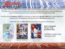 2020 Bowman's Best Baseball Hobby 8 Box Case