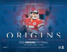 2020 Panini Origins Football Hobby 16 Box Case