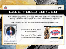 2020 Topps WWE Fully Loaded Wrestling Hobby 20 Box Case