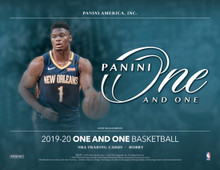 2019/20 Panini One and One Basketball Hobby Box