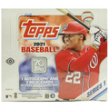 2021 Topps Series 1 Baseball Hobby Jumbo Box