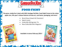 2021 Topps Garbage Pail Kids Food Fight! Collector Edition 8 Box Case