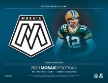 2020 Panini Mosaic Football No Huddle Hobby Box