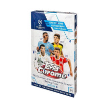 2017/18 Topps UEFA Champions League Chrome Soccer Hobby Box