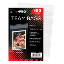 Ultra Pro Team Bags Resealable Sleeves 100 Count Pack