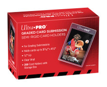 """Ultra Pro Semi Rigid 1/2"""" Lip Tall Sleeves (200ct) - Graded Card Submission Holders"""