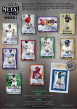 2020 Leaf Metal Draft Baseball Hobby 12 Box Case