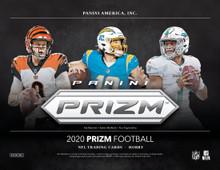 2020 Panini Prizm Football Hobby 12 Box Case
