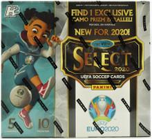2019/20 Panini Select UEFA Euro Soccer Hobby Hybrid Box