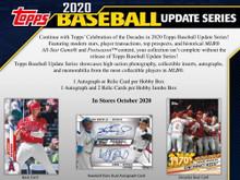 2020 Topps Update Series Baseball Hobby Pack
