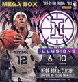2019/20 Panini Illusions Basketball Mega Box
