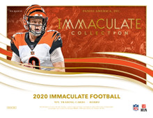 2020 Panini Immaculate Collection Football Hobby 6 Box Case