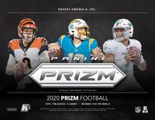 2020 Panini Prizm Football No Huddle Hobby 20 Box Case