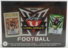 2020 Leaf Valiant Football Hobby 6 Box Case