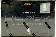 2019/20 Panini Black Basketball Hobby 12 Box Case