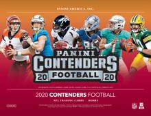 2020 Panini Contenders Football Hobby 12 Box Case