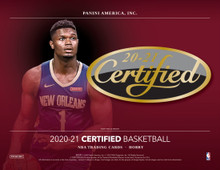 2020/21 Panini Certified Basketball Hobby 12 Box Case
