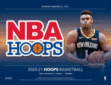 2020/21 Panini NBA Hoops Basketball Hobby Box