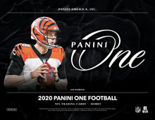 2020 Panini One Football Hobby 20 Box Case