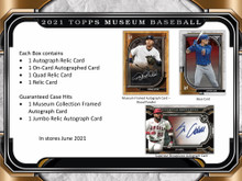2021 Topps Museum Collection Baseball Hobby Box